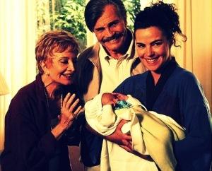 Глория Менезис, Тарсизиу Мейра и Ана Паула - в сериале мать, отец и дочь