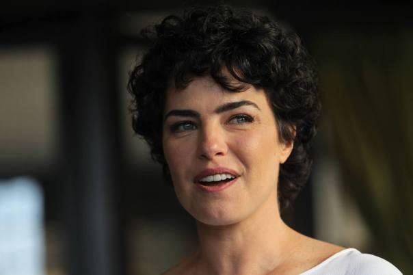 Ana Paula Arósio, protagonista do filme A Floresta Que Se Move.